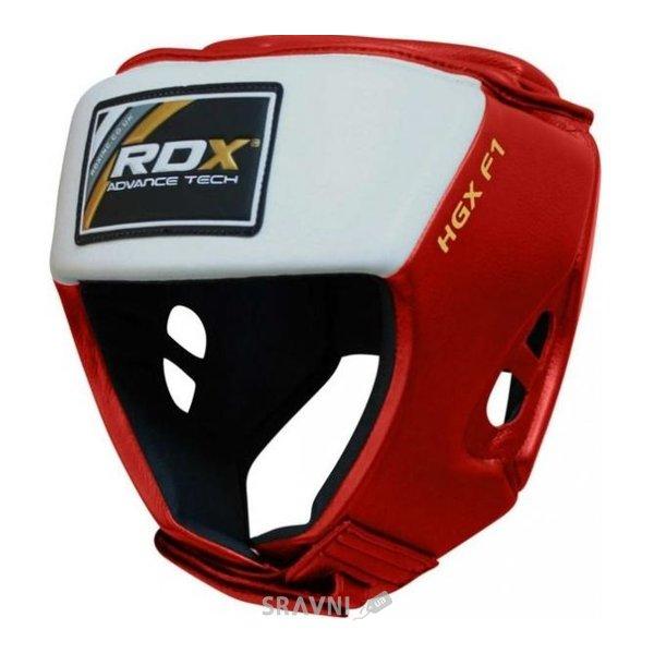 Фото RDX Боксерский шлем для соревнований Red