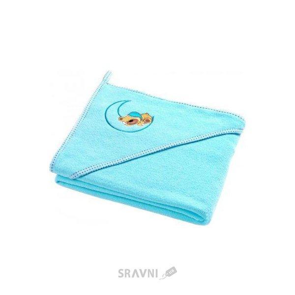 Фото Sensillo Махровое полотенце Медвежонок 100х100 Aqua (SILLO-4164)