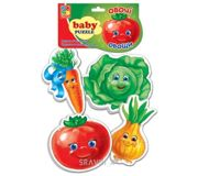 Фото Vladi Toys Беби пазлы Овощи (VT1106-03)