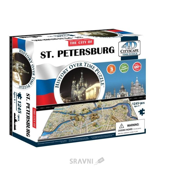 Фото 4D Cityscape Санкт-Петербург. Россия (40036)
