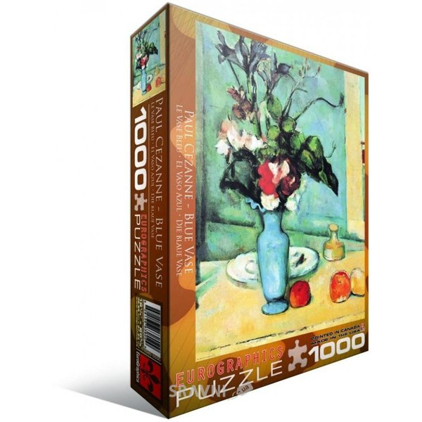"""Фото EuroGraphics """"Голубая ваза"""" Поль Сезанн (6000-3802)"""