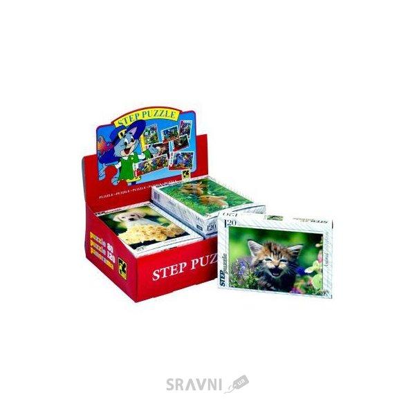 Фото Step puzzle Золотая серия - 9 Животные (120 эл.) (75009)