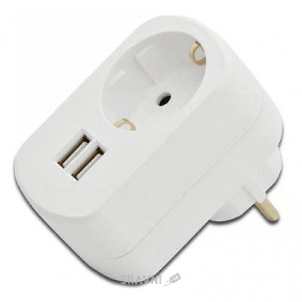 Фото DIGITUS Ednet Dual USB Power Adapter (31804)