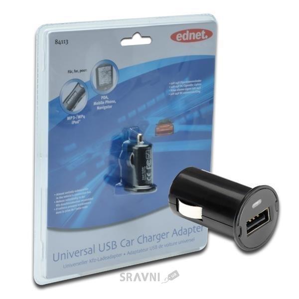 Фото DIGITUS USB MiniCharger black (84113)
