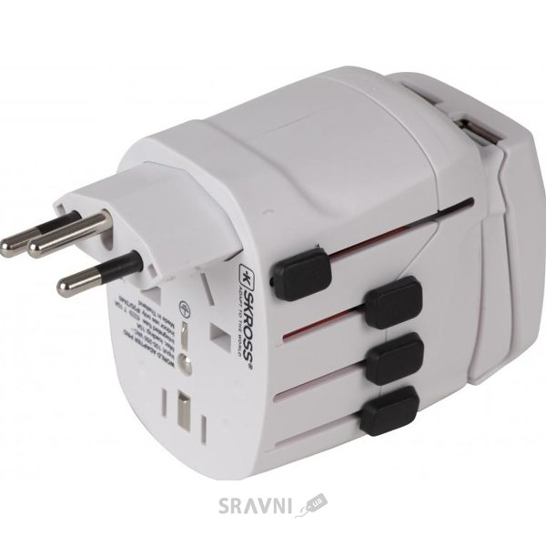 Фото SKROSS World Adapter Pro USB