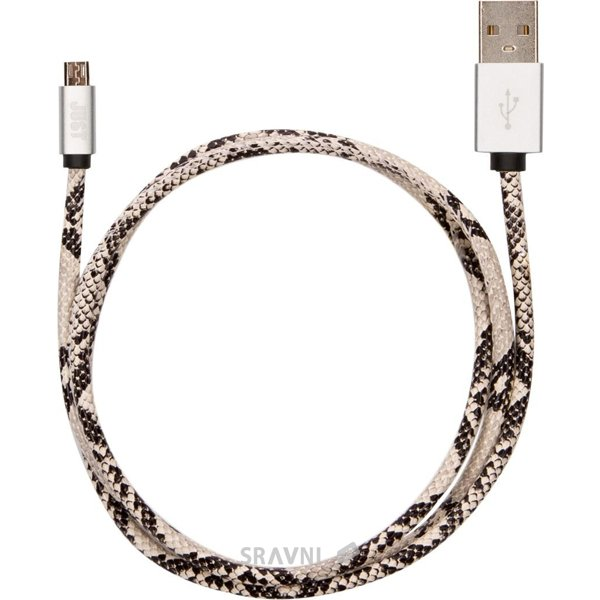 Фото JUST Unique Micro USB Cable Snake (MCR-UNQ-SNK)