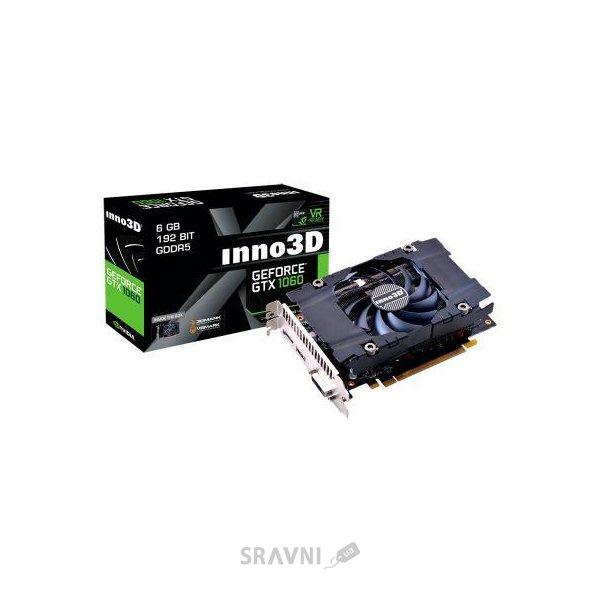 Фото Inno3D GeForce GTX 1060 6Gb Compact (N1060-4DDN-N5GM)
