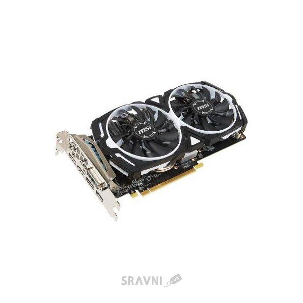 Фото MSI Radeon RX 570 ARMOR 4G OC