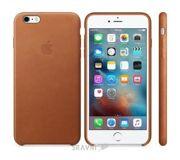 Фото Apple iPhone 6s Plus Leather Case - Saddle Brown (MKXC2)