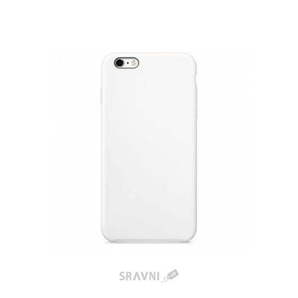 Фото Apple iPhone 6s Silicone Case - White (MKY12)