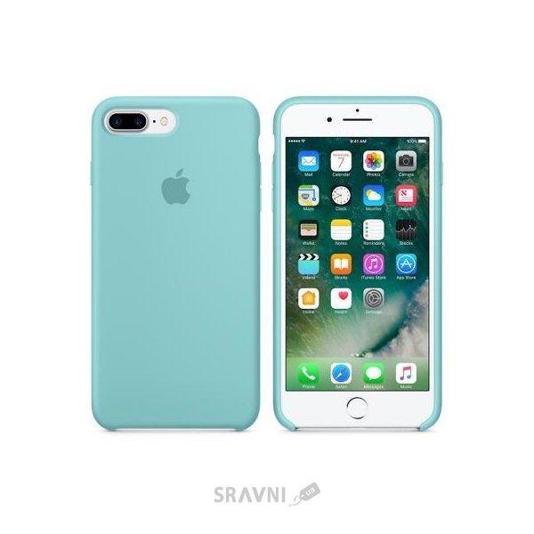 Фото Apple iPhone 7 Plus Silicone Case - Sea Blue (MMQY2)