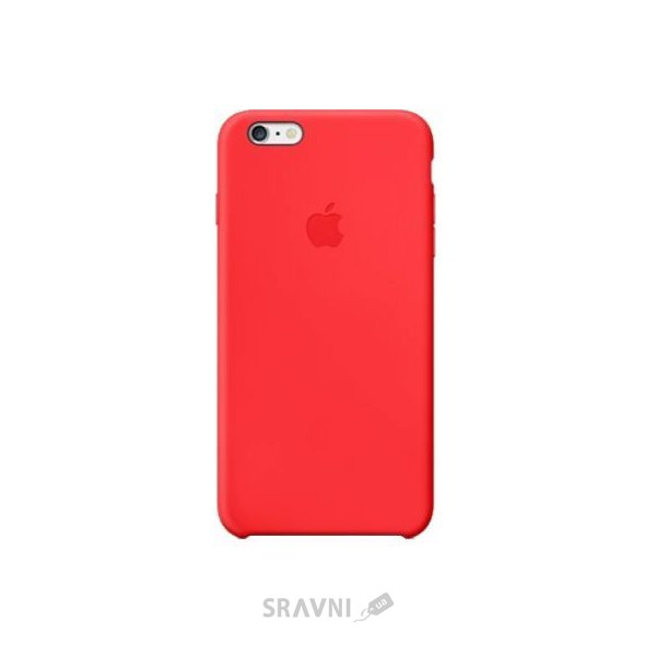 Фото Apple iPhone 6 Plus Silicone Case - Red (MGRG2)
