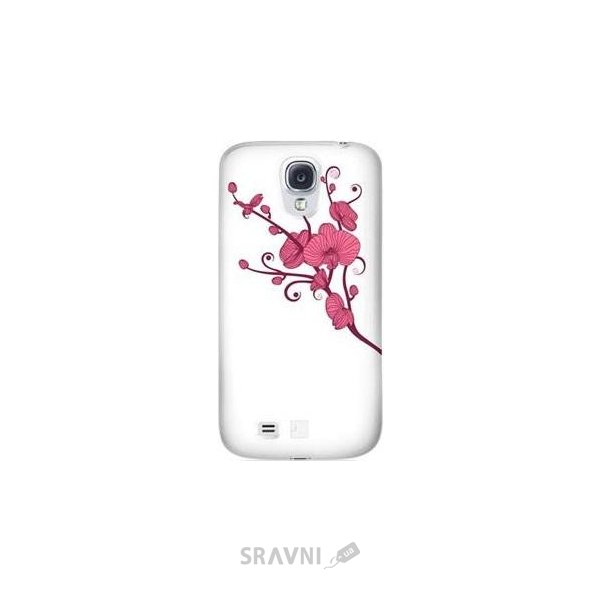 Фото Bling My Thing Orchid Colour for Samsung Galaxy S4 White with Pink (BMT-AS4-OD-WH-LRS)