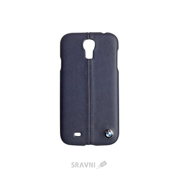Фото BMW Leather Hard Case for Galaxy S4 i9500/i9505 Blue (BMHCS4LN)