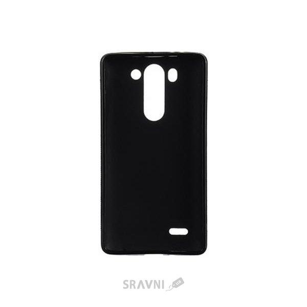 Фото Drobak Elastic PU LG G3s Dual D724 (Black) (215526)
