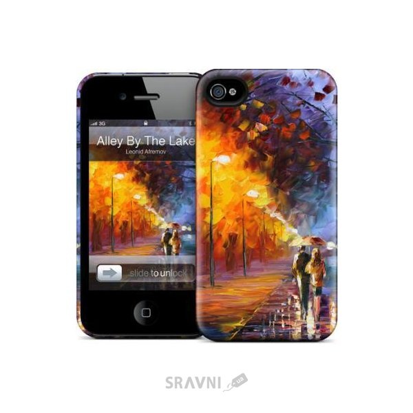 Фото Gelaskins Hard Case for iPhone 4/4S Alley By The Lake Gela