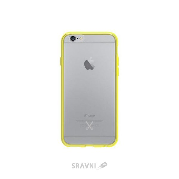 Фото GoPhilo Bumper+ Case for iPhone 6/6S Yellow (PH008YE)