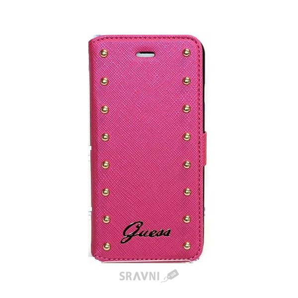 Фото Guess Gold Studs для iPhone 6 Pink (GUFLBKP6SAP)