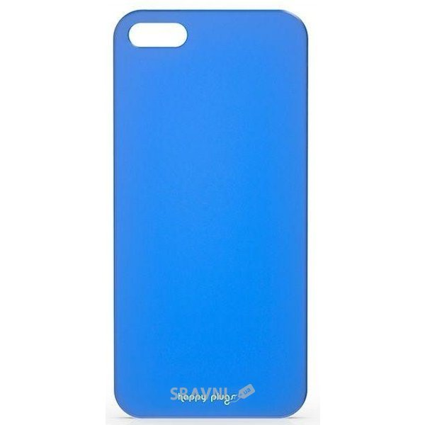 Фото Happy Plugs Ultra Thin Case iPhone 5/5S/SE Blue (8803)