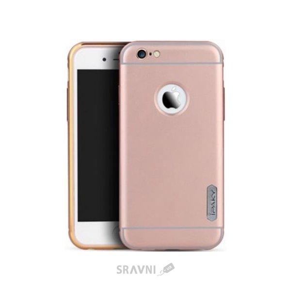 Фото IPAKY Metal Frame Series для Apple iPhone 6/6s (Rose Gold)