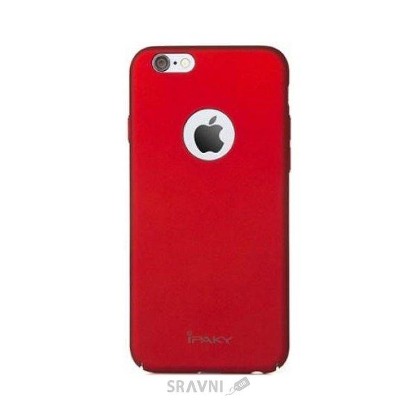 Фото IPAKY Metal Plating Series для Apple iPhone 6/6s (Красный)