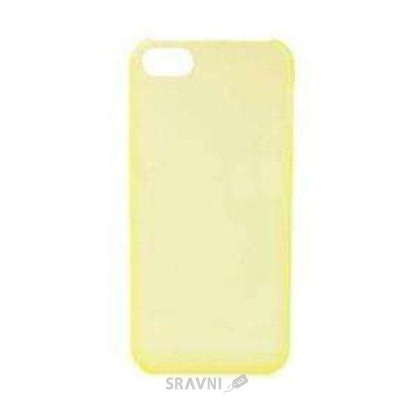 Фото iPearl Ice-Super Slim case Clear Yellow for iPhone 5C (IIP13-NPC-08301C)