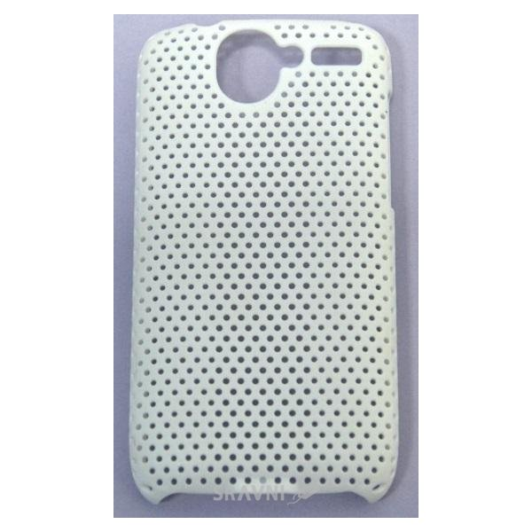 Фото EasyLink Perforated mesh case HTC Desire white