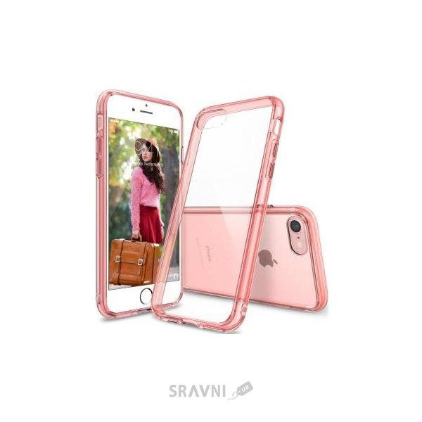 Фото Ringke Fusion Apple iPhone 7 Rose Gold (154209)