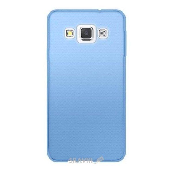 Фото GlobalCase Samsung A300 TPU Extra Slim Голубая (1283126466366)