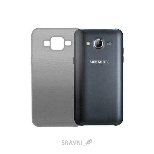 Фото GlobalCase Samsung J700 Galaxy TPU Extra Slim Темная (1283126468636)