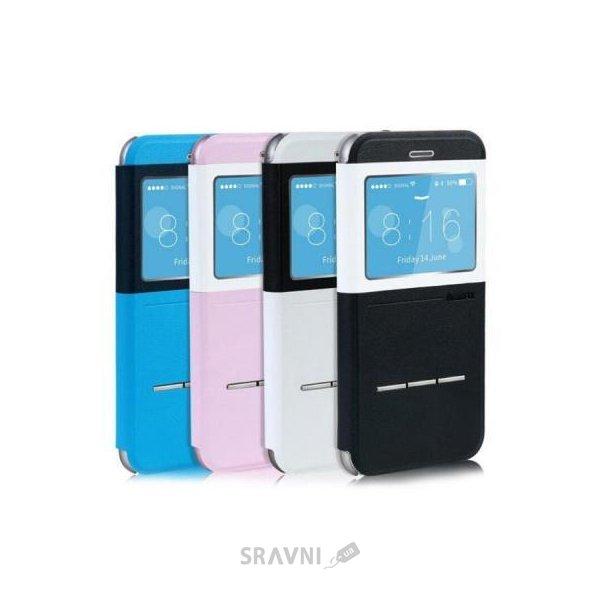 Фото Remax Elegant Leather iPhone 6 Plus Blue