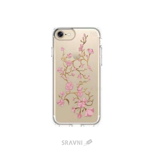 Фото Speck Presidio for iPhone 7 Clear With Graphics Goldenblossom Pink/Clear (SP-79991-5754)