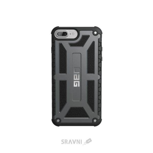 Фото Urban Armor Gear iPhone 7/6S Plus Monarch Graphite Black (IPH7/6SPLS-M-GR)