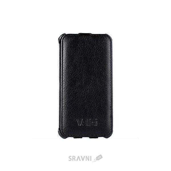 Фото Vellini Lux-flip Huawei Honor 6 Black (218413)