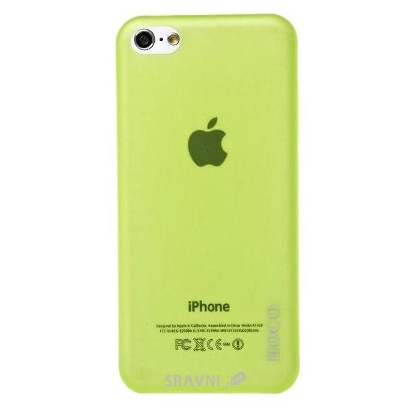 Фото Hoco Ultra Thin for iPhone 5C HI-P011 Green