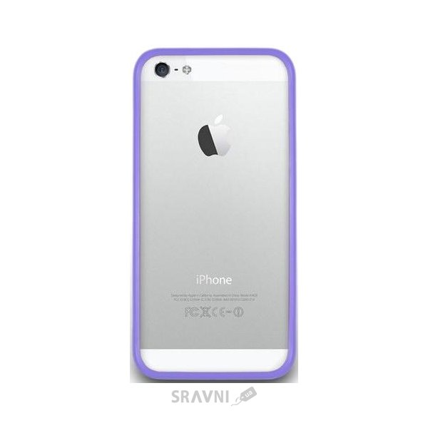 Фото NavJack Trim bumper for iPhone 5/5S pale lilac (J019-15)
