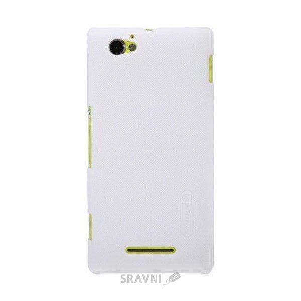 Фото Nillkin Super Frosted Shield for Sony Xperia M  (White)