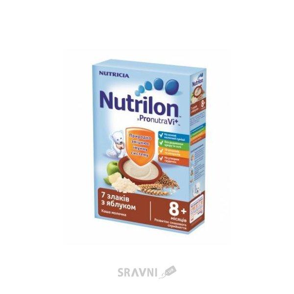 Фото Nutricia Молочная каша Nutrilon 7 злаков с яблоком 225 г