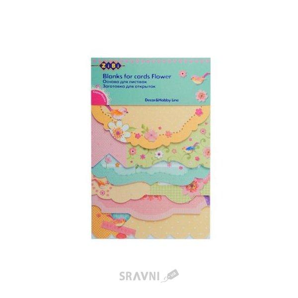 Фото ZiBi Заготовка для открыток Flower (ZB.18217-AF)