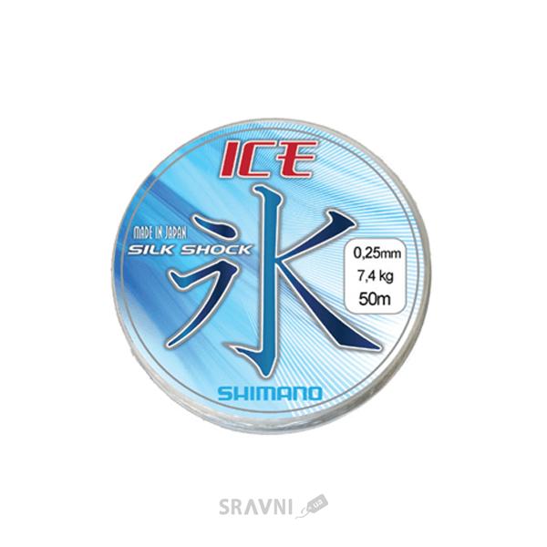 Фото Shimano Silk Shock Ice (0.10mm 50m 1.20kg)