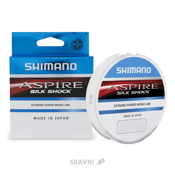 Фото Shimano Aspire Silk Shock (0.16mm 50m 3.0kg)