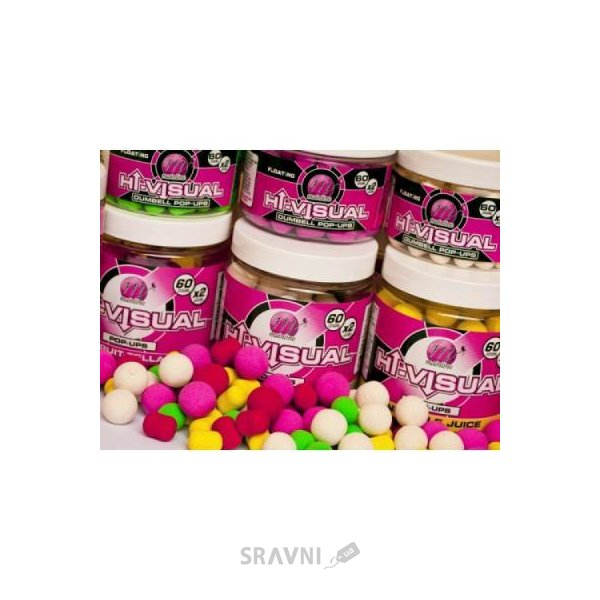 Фото Mainline Бойлы Hi-Visual Mini Pop-Ups (Pink - Clockwork Orange) 10mm 150ml