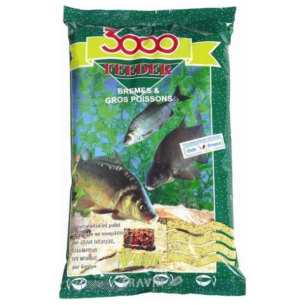 Фото Sensas Прикормка 3000 FEEDER Bream & Big Fish 1,0kg