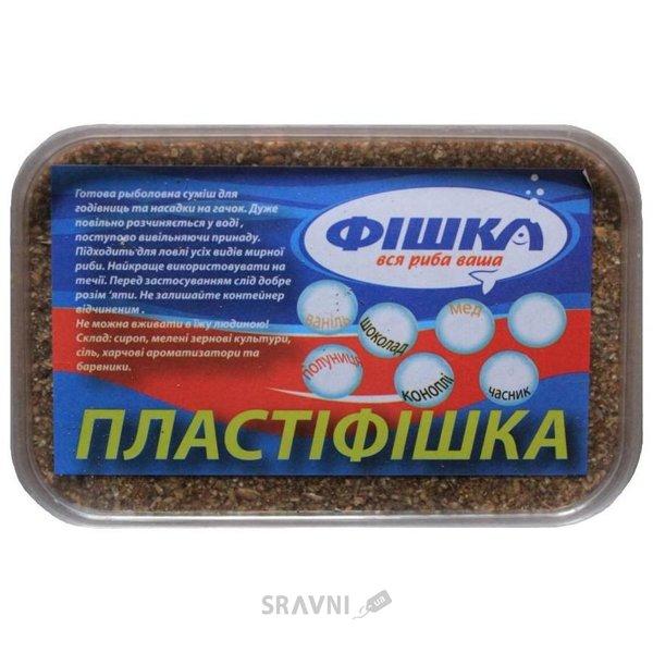 Фото Фішка Прикормочная смесь Пластифишка Мёд 700g