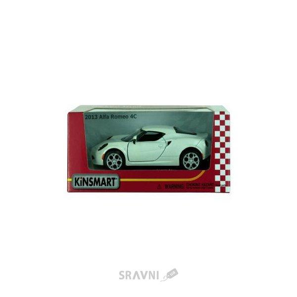 Фото Kinsmart Alfa Romeo 4C (KT5366W)