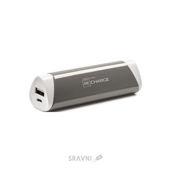 Фото Tech Link Recharge 2600 Power USB Grey (527011)