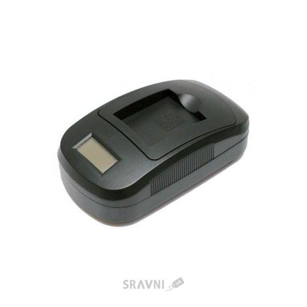 Фото ExtraDigital Зарядное устройство для Fuji NP-60, NP-120 (LCD) - DV0LCD2013
