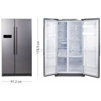 Цены на Холодильник SAMSUNG RS 57 K 4000 SA/UA SAMSUNG Тип холодильника: Side by Side l ВхШхГ: 178.9х91.2х74.7 l Цвет: серебристый l Система разморозки: No Frost l Общий объемхолодильника: 570 л l Полезный объем холод. камеры: 361 л l Полезный объем мороз. каме, фото