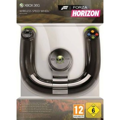 Фото Руль Xbox 360 Speed wheel + ForzaHorizon MICROSOFT