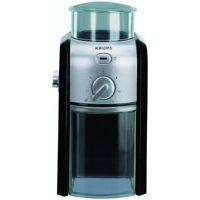 Цены на Кофемолка Krups GVX 242 (Крупс) KRUPS Мощность: 100 Вт / Вместимость: 200 г / 17 степеней помола / Таймер / Материал корпуса: пластик / Цвет: черный+серый, фото